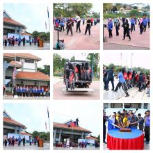 August 2018 Morning Gathering Ceremony of Kluang Municipal Council