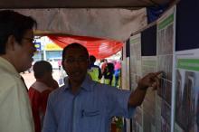 Tuan YDP Menerangkan Perancangan RKK yang akan dilaksanakan di Bandar Kluang.